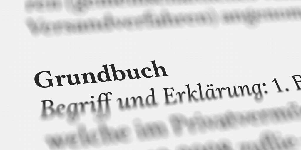 Grundbuch, Illustration