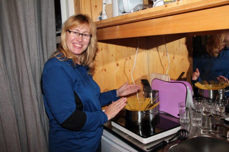 Al dente: Carola Battistini-Goldmund kocht im Tiny House